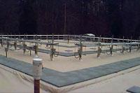 Hybrid thermosyphon system for hazardous waste containment at ORNL; Oak Ridge, TN