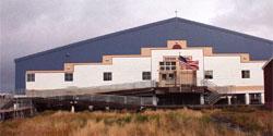 Thermo Helix-Piles supporting K-12 School at Kipnuk, Alaska